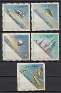 1963 Yémen A.r. */mlh Mi.316/20 A L'espace Space Spatiale Astronautics [st4385]
