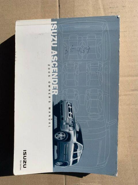 2005 Isuzu Ascender Owner U2019s Manual B78