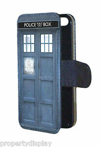 Dr-Who-Tardis-Design-Phone-Box-Faux-Leather-Flip-Wallet-Mobile-Phone-Case-Cover