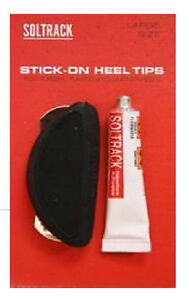 Soltrack Stick on Heel Tips Large Size for Rubber Plastic and Leather HEELS