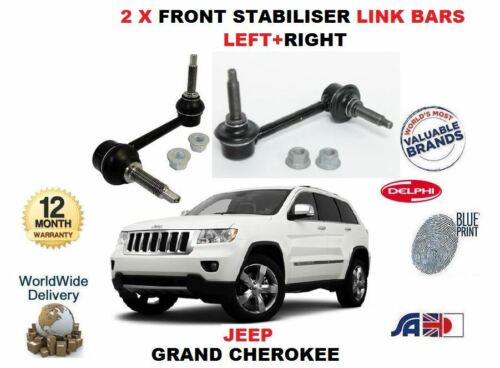 FOR JEEP GRAND CHEROKEE 3.0 TD 6.4 2011-/>2X FRONT LEFT+RIGHT STABILISER LINK BAR