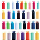 """TULLE Roll Spool 6""""x25yd Tutu Wedding Decoration Party Bow 6""""x75'Colours Pick"""