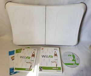 Nintendo Wii Fit Balance Board RVL-021 Bundle with Wii Fit Game Bundle WORKS