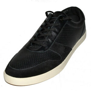 f8ff656ab3935d Image is loading CLAE-Gregory-Black-Perf-Leather-Mens-Shoes