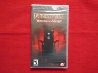 Dungeon Siege Throne Of Agony Psp Factory Sealed Free Fast Ship Rare