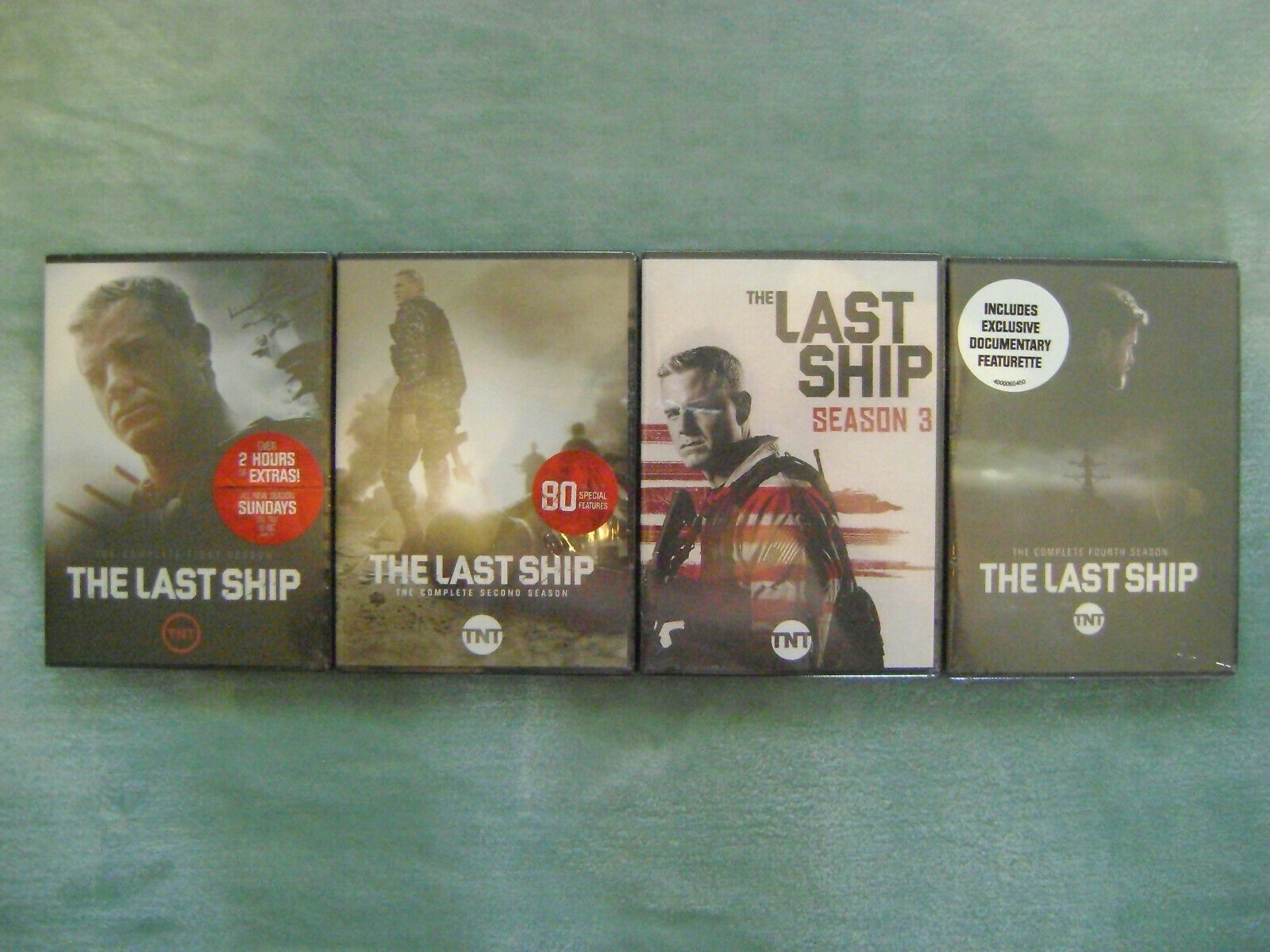 The Last Ship Season 1 Dvd Tnt For Sale Online Ebay