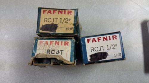 "RCJT x 1//2/"" Fafnir 2 bolt Flange Bearing with collar NEW"