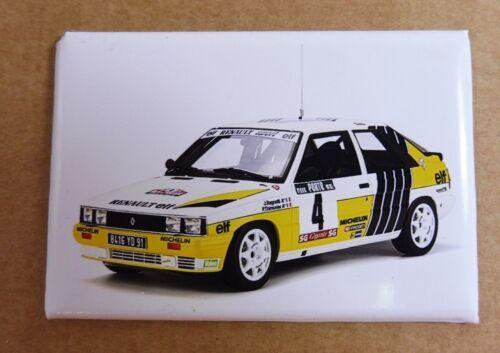 JOLIE Magnet Aimant Frigo Renault 11 Rallye Long 78 mm Haut 54 mm Neuf