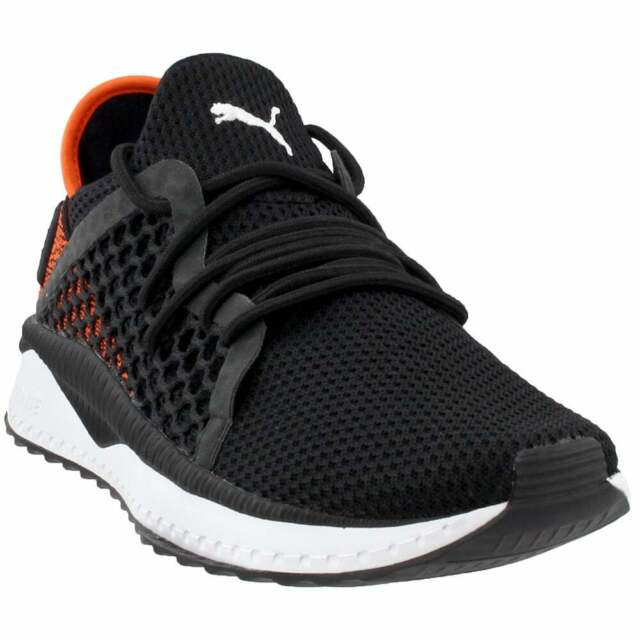 Puma Tsugi Netfit V2 36539802 Mens Black Mesh Canvas Athletic Running Shoes