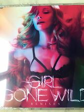 """RARE MADONNA """"GIRL GONE WILD - THE REMIXES"""" EURO  8-TRACK CD FACTORY SEALED"""