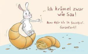 Brettchen-Fruehstuecksbrettchen-Rannenberg-amp-Friends-034-KRUMEL-ZWAR-WIE-SAU-034-Hase