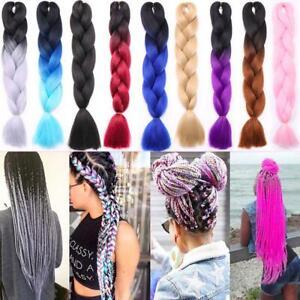 24-039-Kanekalon-Ombre-Synthetic-Jumbo-Braiding-Hair-Extension-Afro-Twist-Braids