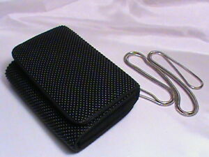 Whiting Nwot Bag Clutch Party Night Purse Bubble Mesh Black Davis Organizer awqRagF