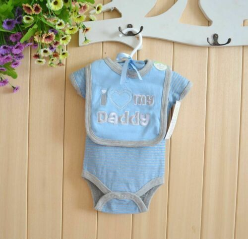 Newborn Bodysuits Baby Bibs Body Short Sleeve Cotton Infants Bebe Clothing