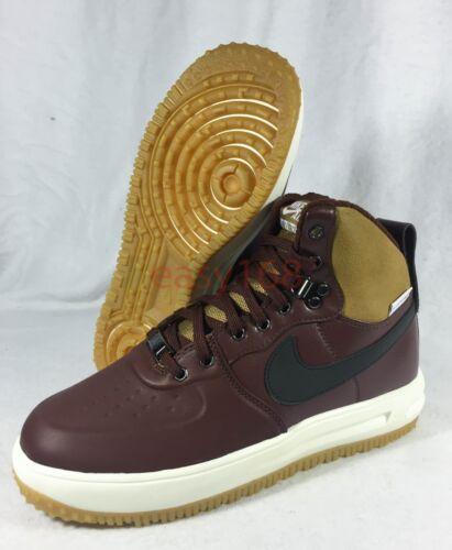 New Nike Lunar force 1 GS Sz 7Y 8.5 WMNS Sneakerboot Winter Snow 706803-200