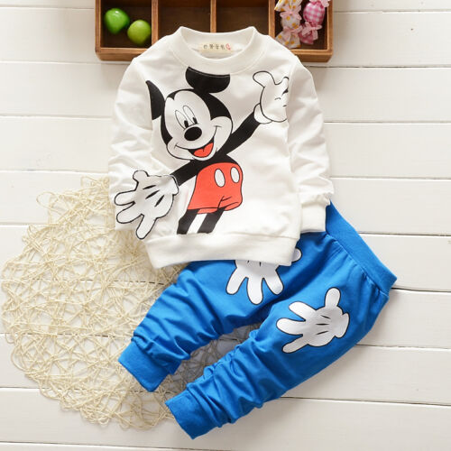 2PCS Toddler baby boys outfits outfits coat pants kid autumn Clothing set