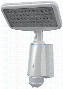 Security Light LED Motion Sensor Solar Powered Very Bright White LEDS 15m Range