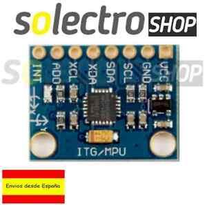 MPU-6050 Modulo Acelerometro + Giroscopio 3 Arduino GYROSCOPE ACCELEROMETR M0017