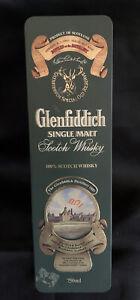 Glenfiddich Scotch Whiskey Single Malt Buck Deer Tin with Hinged Lid