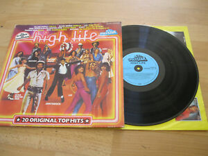 Lp High Life 20 Original Tophits Schlager Vinyl