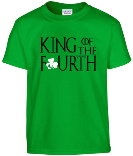 "Boston Celtics Isaiah Thomas /""KING OF THE FOURTH/"" T-shirt jersey S-5XL"