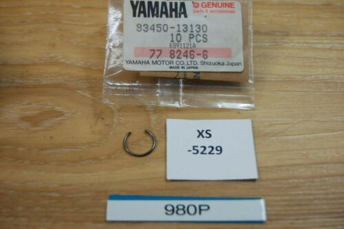 Yamaha YZ80H 93450-13130 CIRCLIP Genuine NEU NOS xs5229