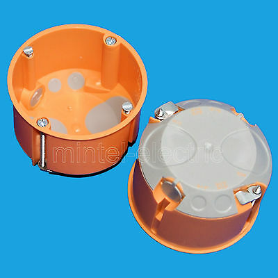 1-50 Hohlwanddosen Schalterdosen Gerätedose 61mm tief D= 68mm F-Tronic Dosen