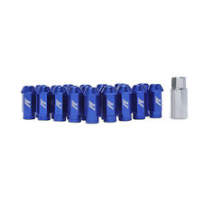 Mishimoto Aluminium Locking Wheel / Lug Nut Set - M12 x 1.25 - Blue