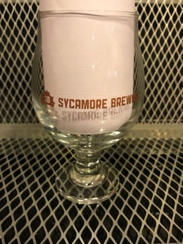 SYCAMORE BREWING Charlotte NC ~ Beer 10oz Snifter Glass Craft Brewery P