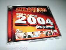 HIT AUF HIT SCHLAGER 2004 DIE ERSTE 2 CD'S MIT MICHELLE BERNHARD BRINK WIND SEER
