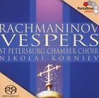 Vespers op.37 von St Petersburg Chamber Choir (2003)