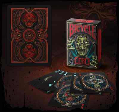 Bicycle Eerie Red Playing Cards Deck New Sealed