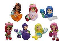 Strawberry Shortcake Playset 7 Figure Cake Topper * USA SELLER* Toy Doll Set