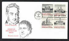 1779-1782 -- Architecture -- First Day cover, Virgil Crow Strickland cachet