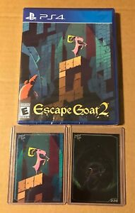 Escape-Goat-2-Limited-Run-Games-141-Sony-PS4-PlayStation-4-NEW-SEALED-RARE