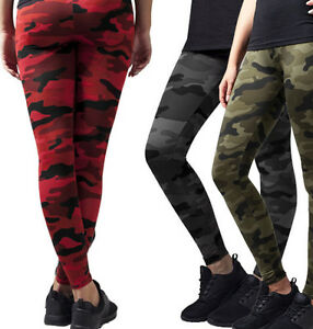 a29abc16272c9b Image is loading Urban-Classics-Ladies-039-Leggings-Camo-Camouflage -Trousers-