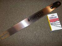 Forester 24 Model Pro Chainsaw Bar: Fits Stihl Model 024 Thru 066 + Free Chain
