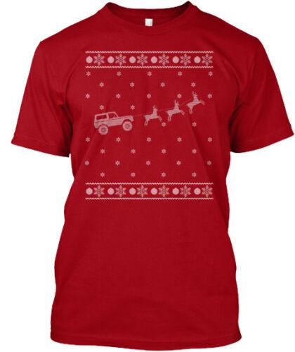Ford Bronco 1966-1971 Bronco Truck Ugly Christmas 2018 T-Shirt X-mas T-Shirt