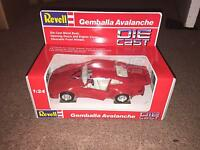 1990 Revell 1:24 Scale Die Cast Car - Gemballa Avalanche