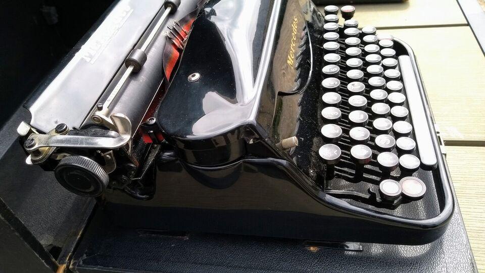 Mercedes skrivemaskine