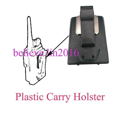 JMZN4023A Plastic Carry Holster W//Belt Clip For Motorola EX500 EX560XLS EX600