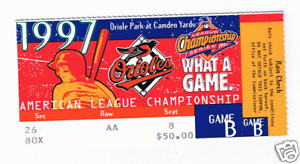 1997-Baltimore-Orioles-Ticket-Stub-Championship-Series