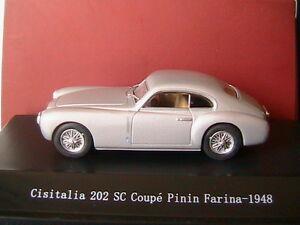CISATALIA-202SC-COUPE-PININ-FARINA-1948-SILVER-STARLINE-540025-1-43-SILBER