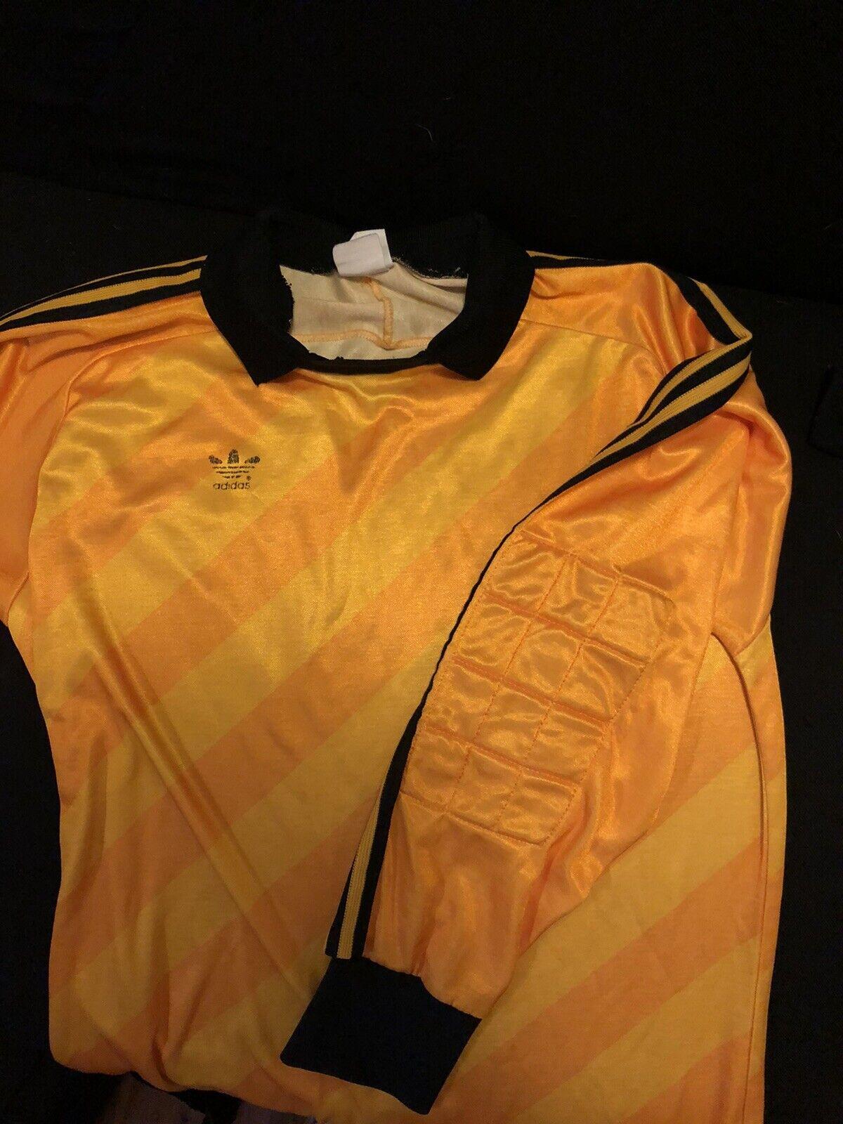 Vintage Adidas Tre Foil 80s Goalie Jersey - Gem