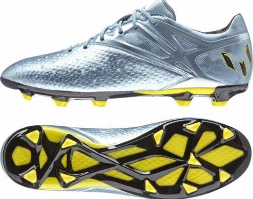 39f2cf22c Articles de football Adidas Messi 15.2 FG AG Matt Glace Jaune Noir B23775 Football  Boots UK 8