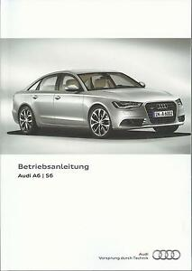 AUDI-A6-S6-Limousine-Avant-A6-Hybrid-C7-Betriebsanleitung-2014-Handbuch-BA