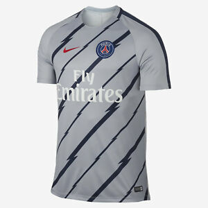 Nike-Paris-Saint-Germain-832277-013-Dry-Squad-T-shirt-Football-maillot-homme-taille-M