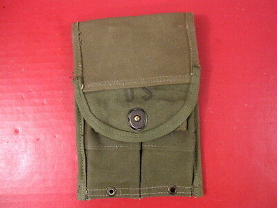 Rigger Modified Korean M1 Carbine OD Green Canvas Magazine Pouch 30 Rd Mags