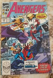 AVENGERS #316 NM- SPIDER-MAN 1 JOINS NEBULA 1 THANOS 1