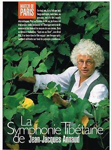 100% Vrai Coupure De Presse Clipping 1997 (3 Pages) Jean Jacques Annaud